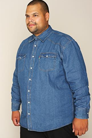 Casual Shirts DUKE Stonewash Denim Shirt 070400