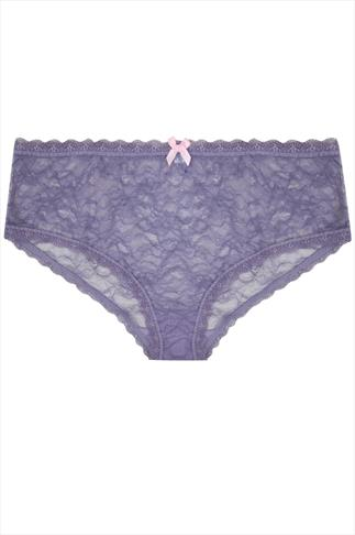 Lilac All Lace Brief