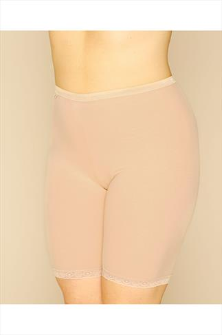 Briefs Knickers SLOGGI Nude Basic Long Length Briefs 014077