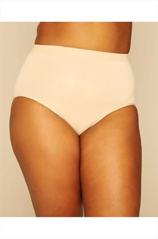 Shapewear Nude Seamless Light Control Brief 019953