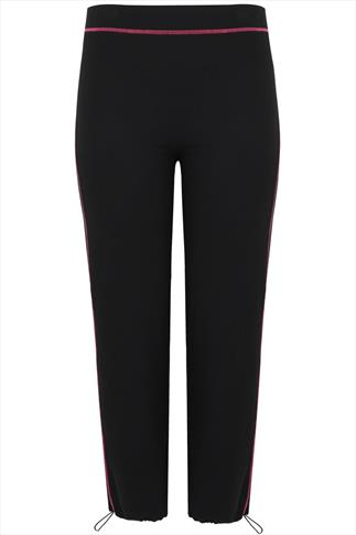 ACTIVE Black Sports Yoga Pants