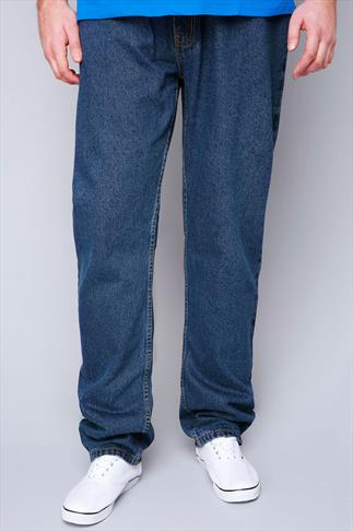 Rockford Stonewash Stretch Jeans - TALL
