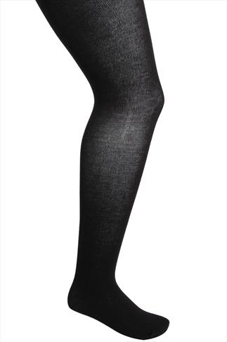 Black 200 Denier Supersoft Thick Tights
