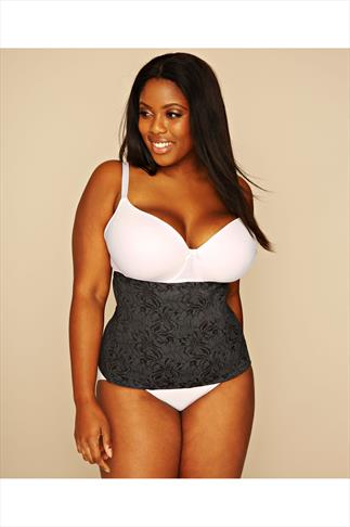MAIDENFORM Flexees Ultimate Slimmer Black Waistnipper