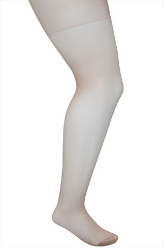 3 PACK Natural 20 Denier Ladder Resist Tights