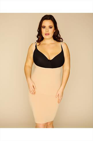 Shapewear Nude Seamless Control Under Bust Full Slip 048170