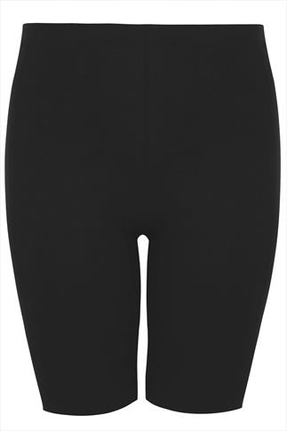 Black Legging Shorts