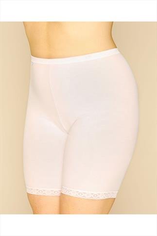 Briefs Knickers SLOGGI White Basic Long Length Briefs 014248
