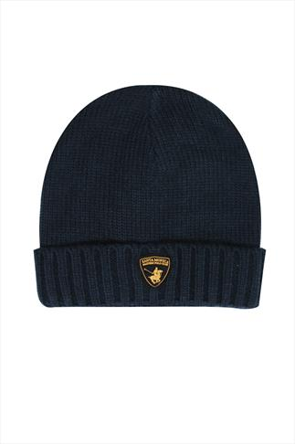 Hats & Scarves SANTA MONICA Navy Beanie Hat 057178