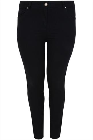 Black Basic 5 Pocket Skinny Jeans