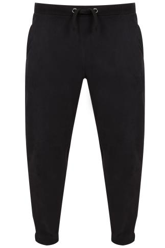 BadRhino Black Jogging Bottoms