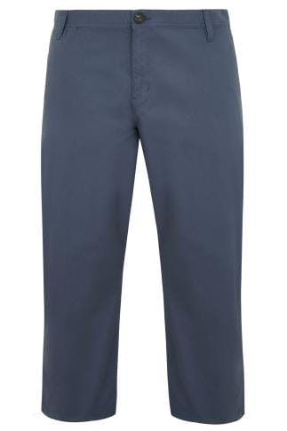 BadRhino Blue Stretch Chinos - TALL