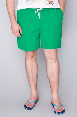 BadRhino Green Swim Shorts