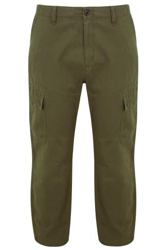 BadRhino Khaki Cargo Trouser With Utility Pockets