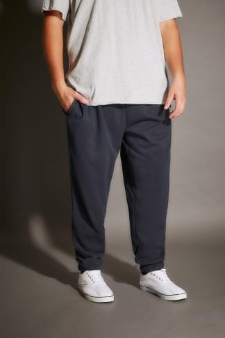Joggers BadRhino Navy Basic Sweat Joggers With Pockets - TALL 200212