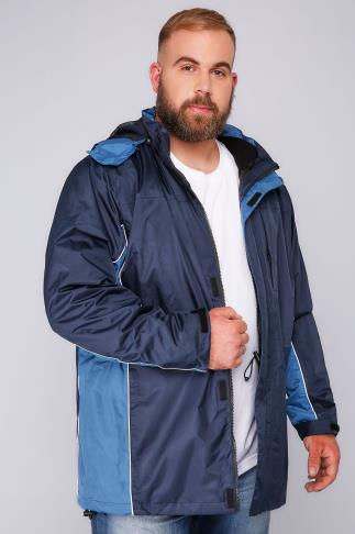 BadRhino Navy & Blue 3 in 1 Jacket