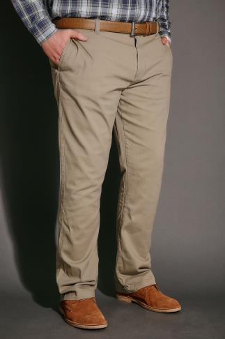 Chinos & Cords BadRhino Stone Stretch Chinos - TALL 10037100STT