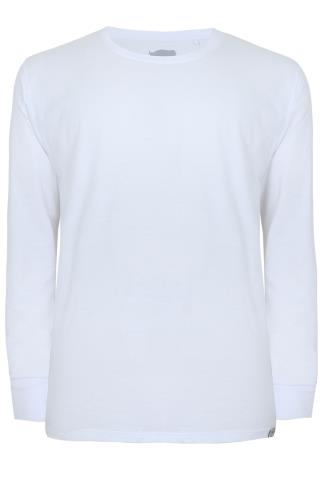 BadRhino White Long Sleeved T-Shirt
