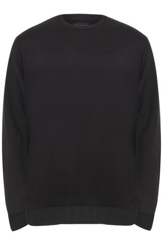 BadRhino Black Crew Neck Sweatshirt