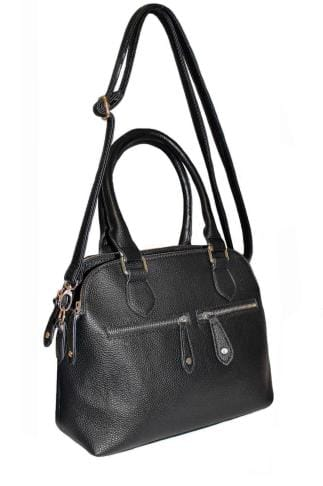 Shopper & Tote Bags Black Compartment Tote Bag With Detachable Strap 152410