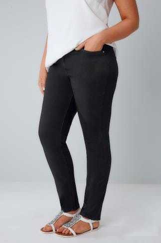 Skinny Black Denim Skinny SHAPER Jeans 101593