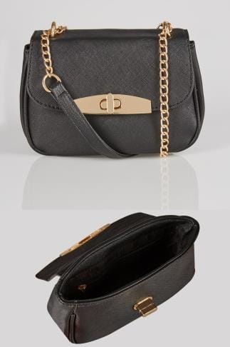 Across-The-Body Black Mini Cross Body Bag 152439
