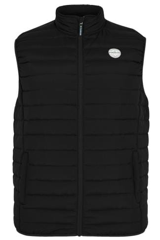 Gilets BadRhino Black Padded Gilet With Shower Resistant Finish 200319