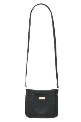 Black Small Cross Body Shoulder Bag 152213