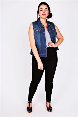 Black Super Stretch Skinny Jeans 050995