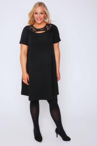 Plus Size Black Dresses  Ladies Dresses  Yours Clothing