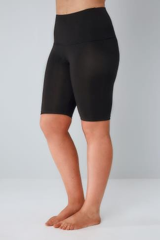 Sculptante Black TUMMY CONTROL Legging Shorts 054967