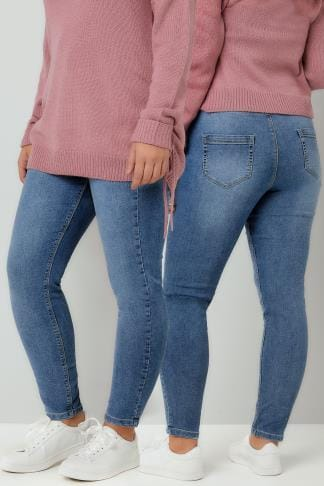 Jeggings Blue Vintage Wash JENNY Jeggings 142120
