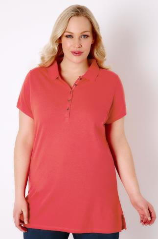Coral Polo T-Shirt