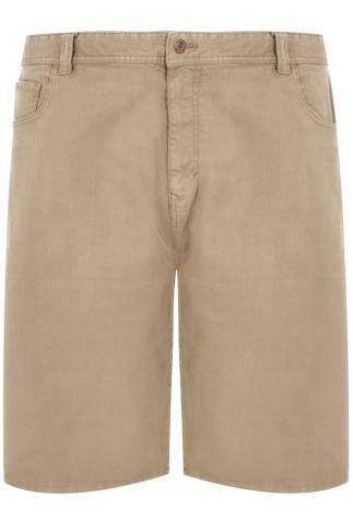 Light Stone Denim 5 Pocket Shorts