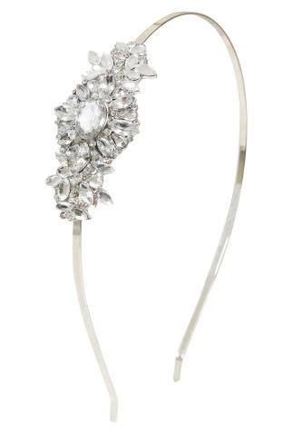 Hair Accessories Gold Jewel Headband 102865