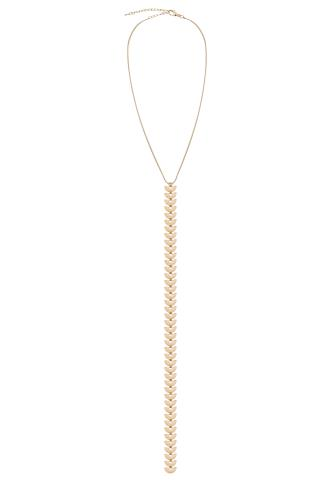 Gold Long Pendant Necklace