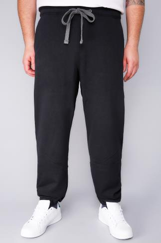 Joggers HENLEYS Black Joggers With Drawstring Waist 101821