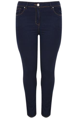 Indigo Blue Basic 5 Pocket Skinny Jeans
