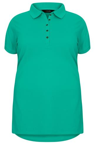 Jade Green Polo T-Shirt