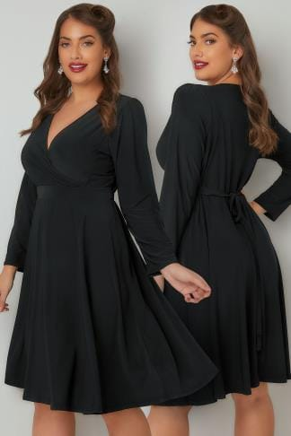 Black Dresses LADY VOLUPTUOUS Black Lyra Dress 138738