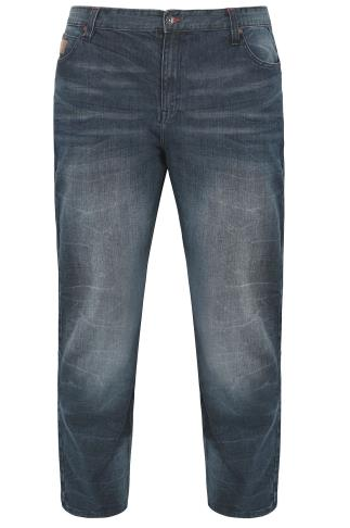 LAMBRETTA Blue Wash Jeans