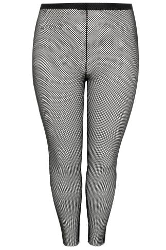 LIMITED COLLECTION Black Fishnet Leggings