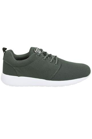 Trainers & Plimsolls  LOYALTY & FAITH Grey Lightweight Woven Trainer 101852