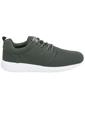 LOYALTY & FAITH Grey Lightweight Woven Trainer
