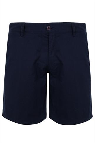 LOYALTY & FAITH Navy Cotton Shorts