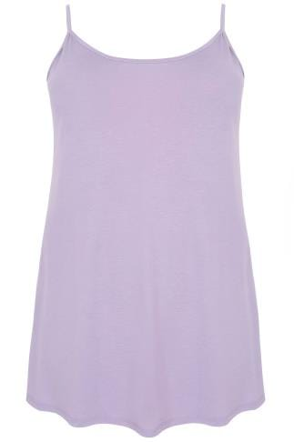 Dusky Purple Swing Cami Top
