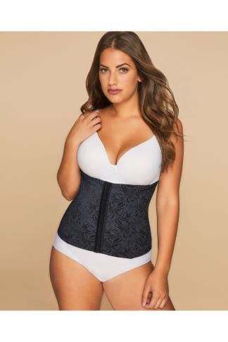 Sculptante MAIDENFORM Flexees Ultimate Slimmer Black Waistnipper 014047