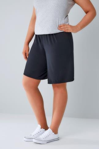 Jersey Shorts Navy Jersey Pull On Shorts 144044
