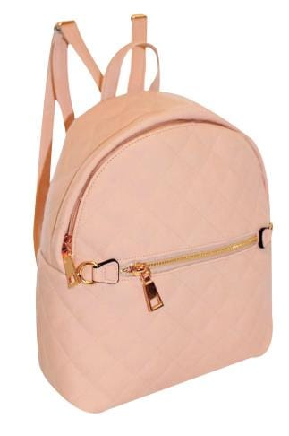 Bags & Purses Nude Small Quilted Backpack 152442