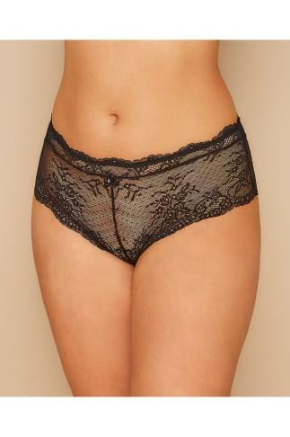 Briefs Knickers PARFAIT Black Lace Sandrine Hipster Brief 138467